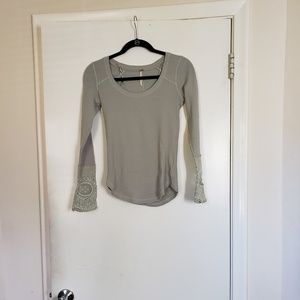 Free People lovely lady cuff thermal